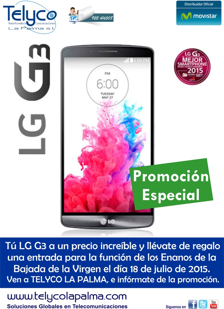 LG3 PROMOCION julio 20155