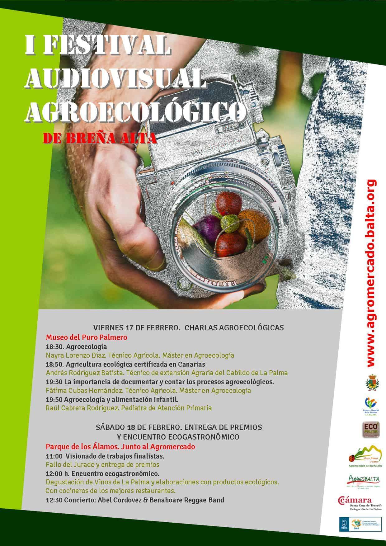 Poster Festival Agroecológico clausura cambio fechas