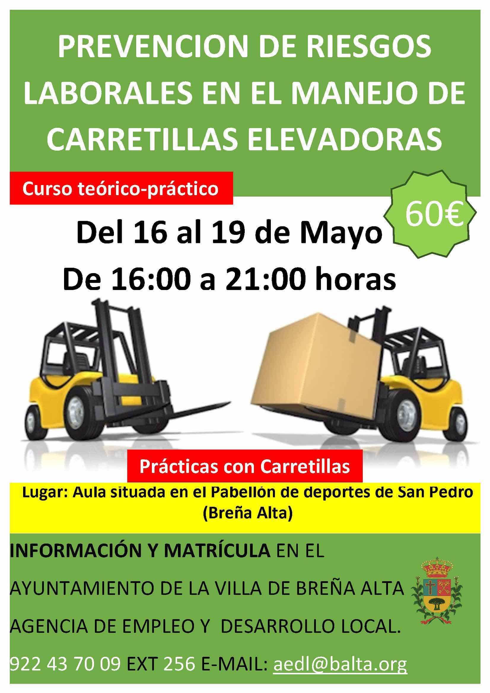 Cartel Carretillas Elevadoras 16_19 mayo