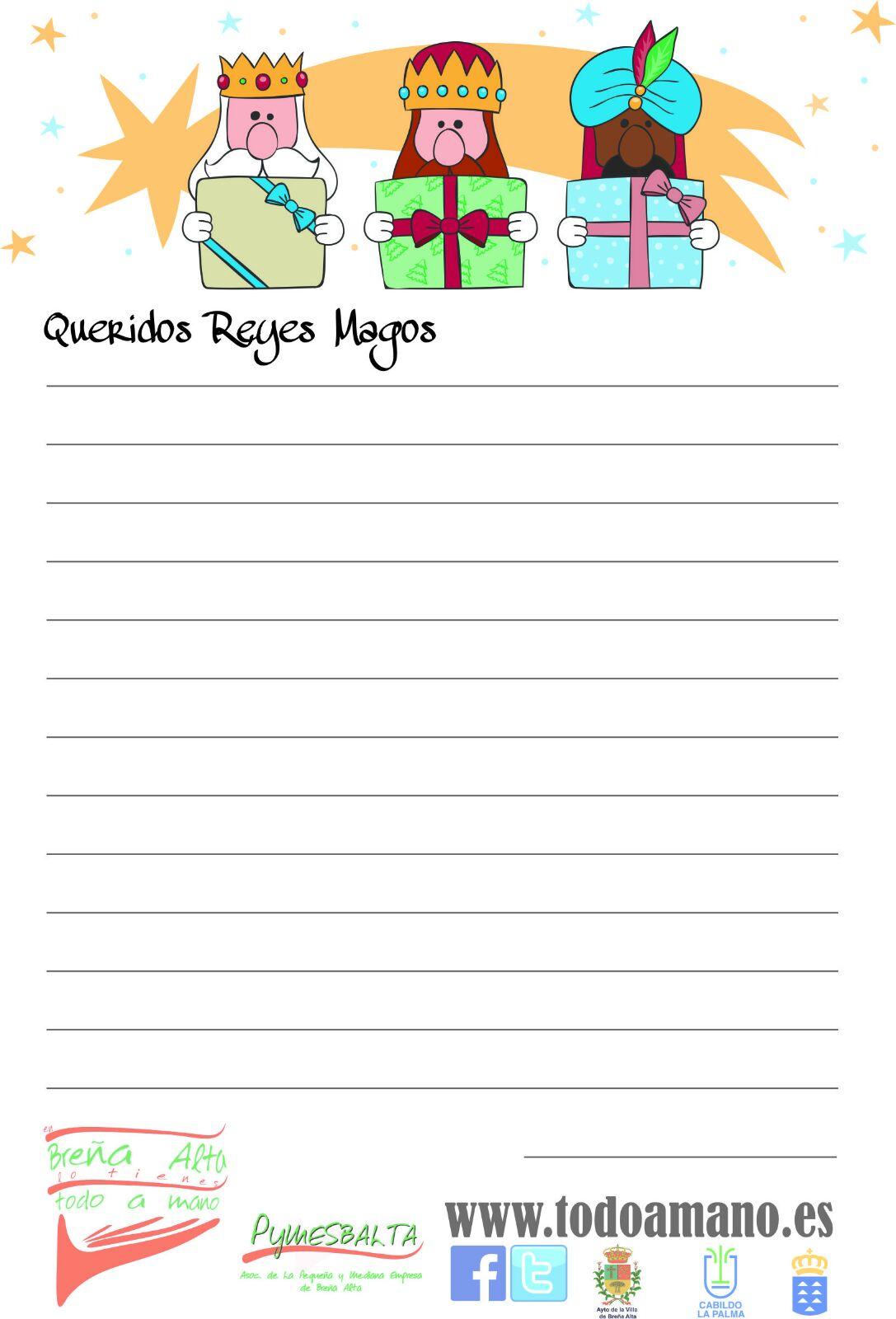 Mi carta a los Reyes Magos - PYMESBALTA